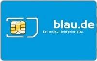 Kostenlose Blau SIM-Karte