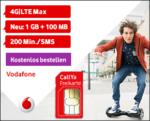 gratis Vodafone Prepaid-Simkarte (CallYa Freikarte)