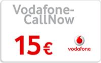 Vodafone CallNow Guthabenkarte