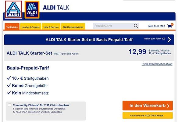 Neue Sim Karte Aktivieren Aldi Talk