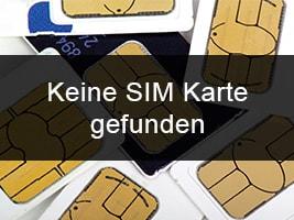 SIM-Karte wird nicht erkannt