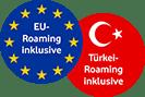 Internationale Gespräche in die Türkei und EU inklusive
