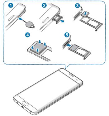 Samsung Galaxy S7 Sim Karte Einsetzen.Sim Karte Beim Samsung Galaxy S7 Einlegen Bzw Wechseln So Geht S