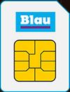 BLAU Prepaid SIM Karte